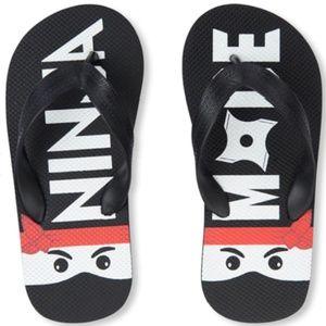 Boys & Girls 'Ninja Mode' Flip Flops